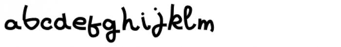 Loose Leaf JNL Font LOWERCASE