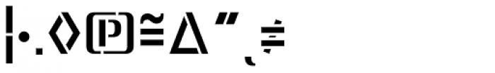 Lore Medium Expert Font OTHER CHARS