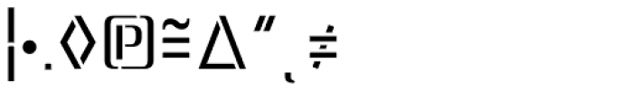 Lore Regular Expert Font OTHER CHARS