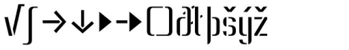 Lore Regular Expert Font LOWERCASE