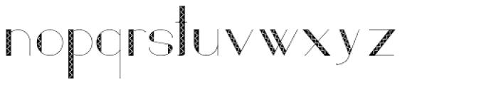 Loreen Hollywood Zick Sans Font LOWERCASE