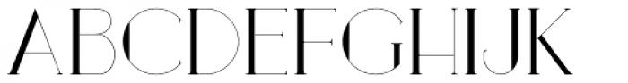 Loreen Hollywood Font UPPERCASE