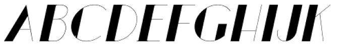 Loreen Hollywoodbold Sans Bold Italic Font UPPERCASE