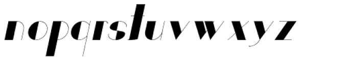 Loreen Hollywoodbold Sans Bold Italic Font LOWERCASE
