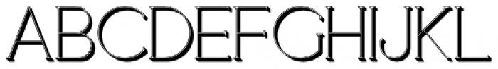 Loreen Shadow Font UPPERCASE
