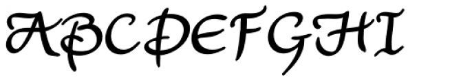 Lorelei Potens Font UPPERCASE