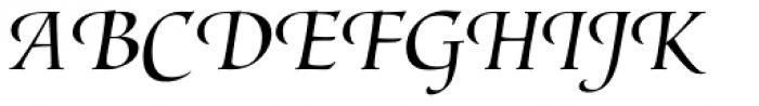 Lorenzo Swash Light Font UPPERCASE