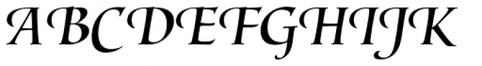 Lorenzo Swash Regular Font UPPERCASE
