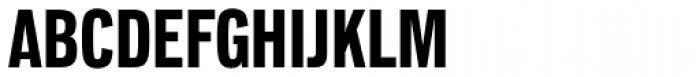 Lorimer No 2 Condensed Bold Font UPPERCASE