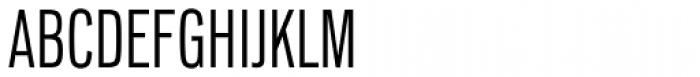 Lorimer No 2 Condensed Light Font UPPERCASE