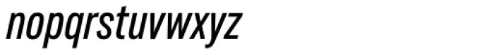 Lorimer No 2 Condensed Medium Italic Font LOWERCASE