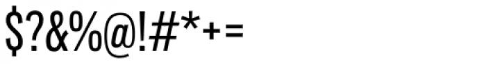 Lorimer No 2 Condensed Medium Font OTHER CHARS