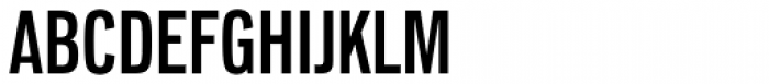 Lorimer No 2 Condensed SemiBold Font UPPERCASE