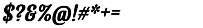 Lorna Bold Italic Font OTHER CHARS