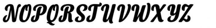 Lorna Bold Italic Font UPPERCASE