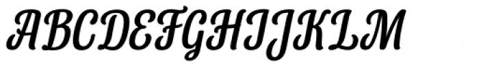 Lorna Italic Font UPPERCASE