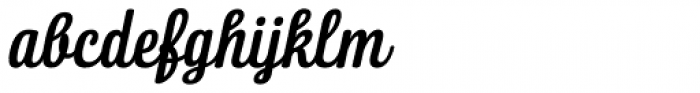 Lorna Italic Font LOWERCASE