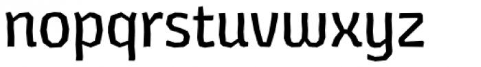 Los Lana Niu Alt Essential Regular Font LOWERCASE