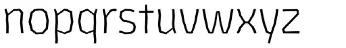 Los Lana Niu Essential Light Font LOWERCASE