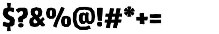 Los Lana Niu Pro Black Font OTHER CHARS