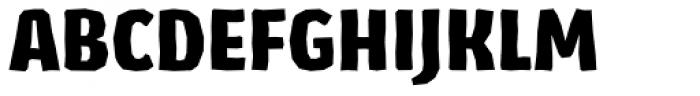 Los Lana Niu Pro Black Font UPPERCASE