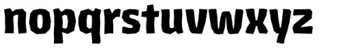 Los Lana Niu Pro Black Font LOWERCASE