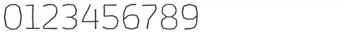 Los Lana Niu Small Caps Thin Font OTHER CHARS