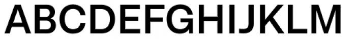 Lota Grotesque Alt 3 Semi Bold Font UPPERCASE