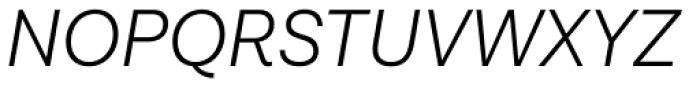 Lota Grotesque Light Italic Font UPPERCASE
