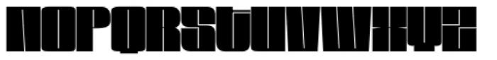 Loudine Font UPPERCASE