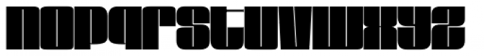 Loudine Font LOWERCASE