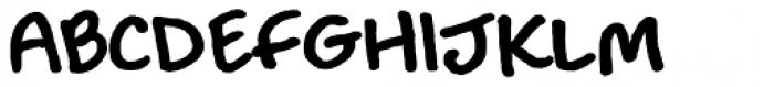 Louisville Script Bold Font UPPERCASE
