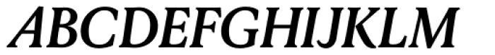 Louize Bold Italic Font UPPERCASE