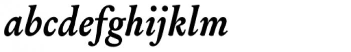Louize Bold Italic Font LOWERCASE