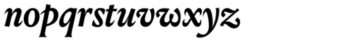 Louize Display Bold Italic Font LOWERCASE