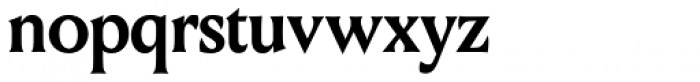 Louize Display Bold Font LOWERCASE