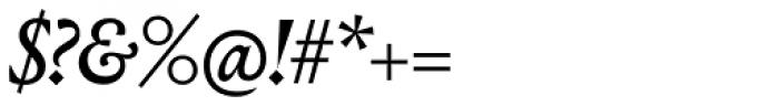 Louize Display Medium Italic Font OTHER CHARS
