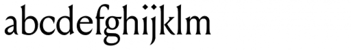 Louize Display Font LOWERCASE