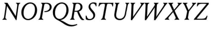 Louize Italic Font UPPERCASE