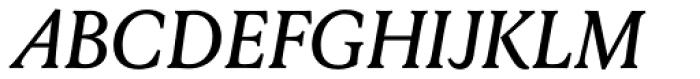 Louize Medium Italic Font UPPERCASE