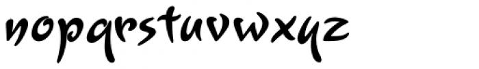 Lourdes Bold Font LOWERCASE