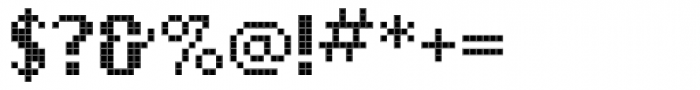 Love Bytes Bold Font OTHER CHARS