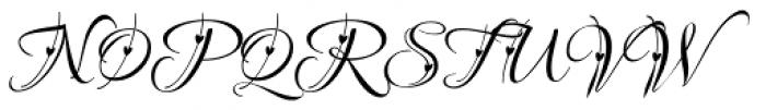 Love Light ROB Font UPPERCASE