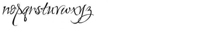 Love Light ROB Font LOWERCASE