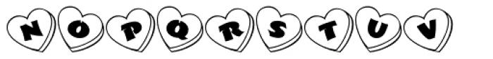 Love Notes JNL Font UPPERCASE