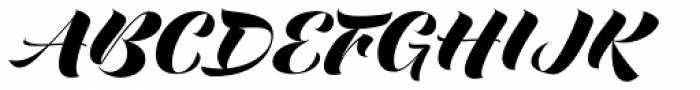 Love Script Font UPPERCASE