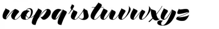 Love Script Font LOWERCASE