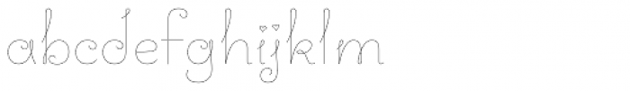 Love Story Font LOWERCASE