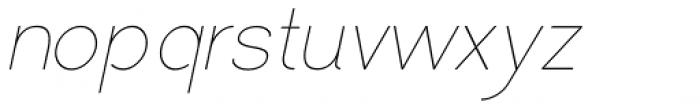 Love Supreme Italic Font LOWERCASE