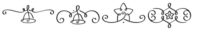 LoveChristmas Font UPPERCASE